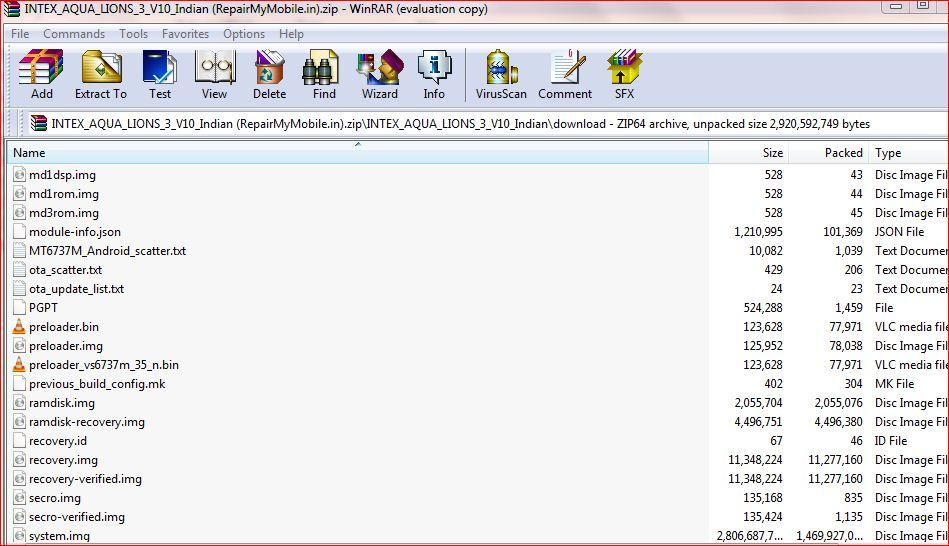 Intex Aqua Lions 3 Flash File (Stock ROM) - RepairMyMobile in