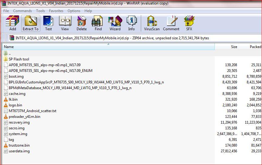 intex aqua lions x1 flash file