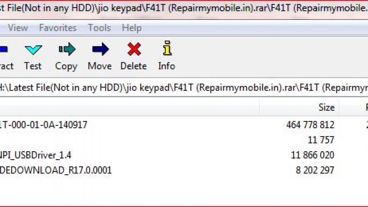 LYF Jio F41T Working Flash File (Stock Rom) - RepairMyMobile in
