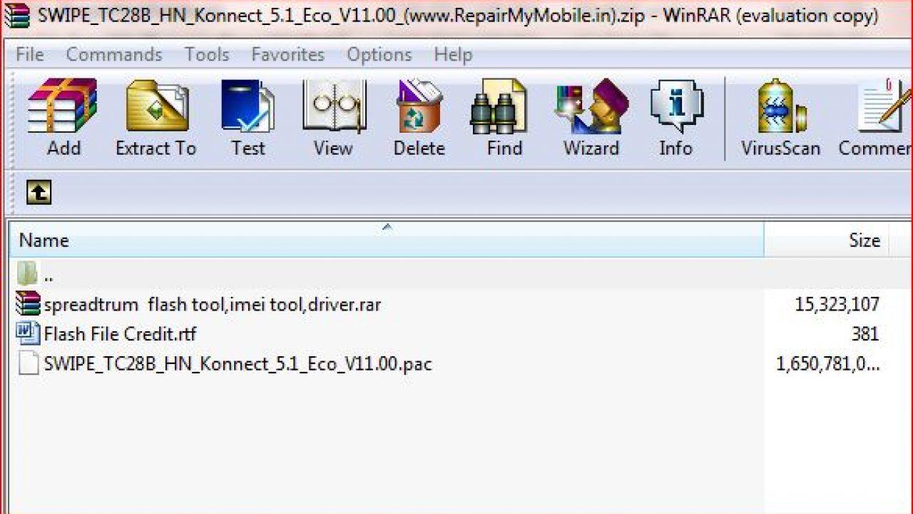 Swipe Konnect 5 1 Eco Flash File (Stock ROM) - RepairMyMobile in