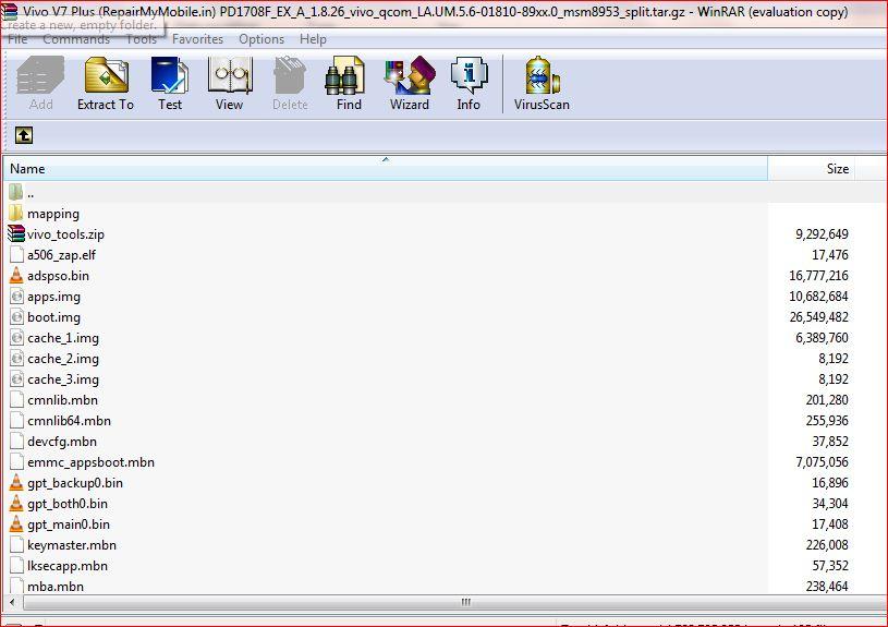 Vivo V7 Plus Flash File (Stock ROM) - RepairMyMobile in