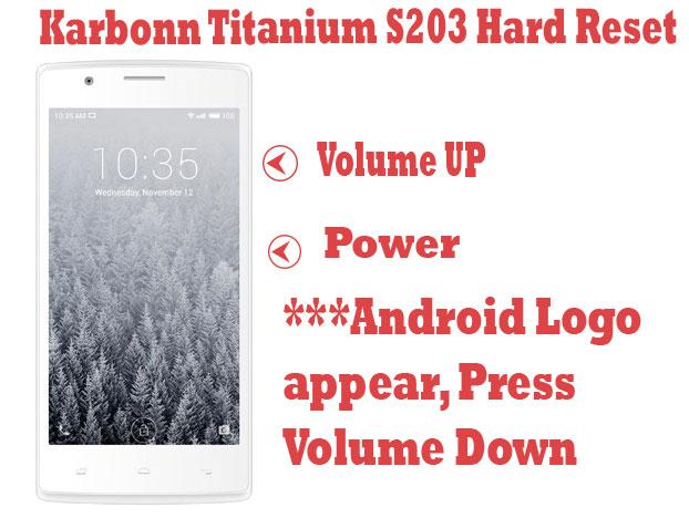 Karbonn-Titanium-s203-hard-reset