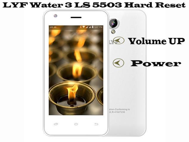 LYF-water-3-ls5503-Hard-Reset