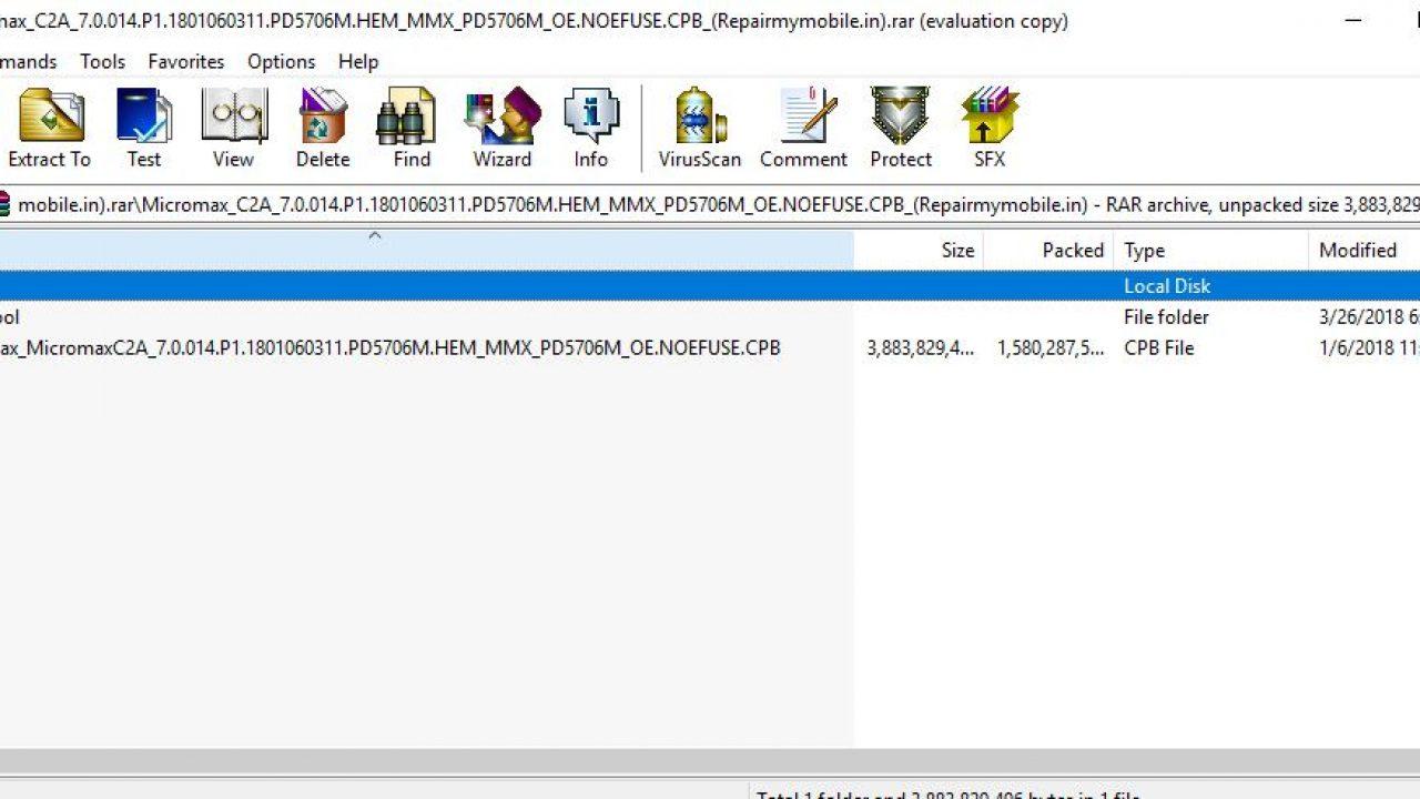 Micromax C2A Flash File (Stock ROM) - RepairMyMobile in