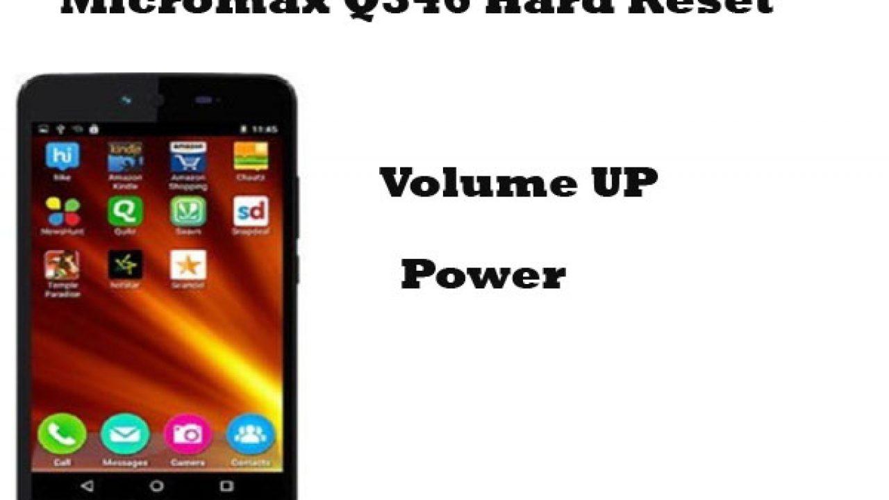 Micromax Q346 Hard Reset (Pattern Unlock) - RepairMyMobile in