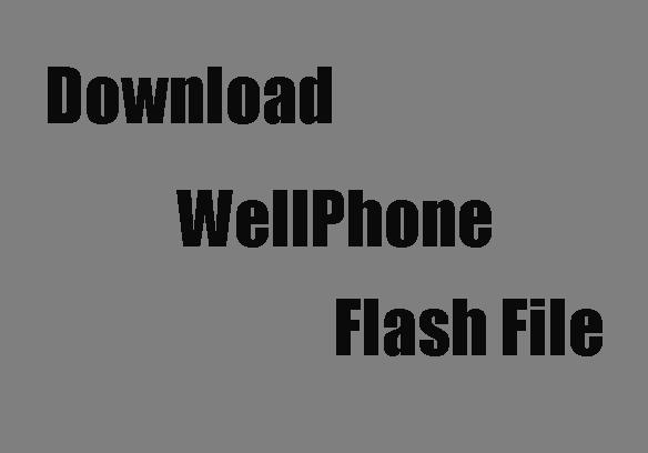 Wellphone Flash File
