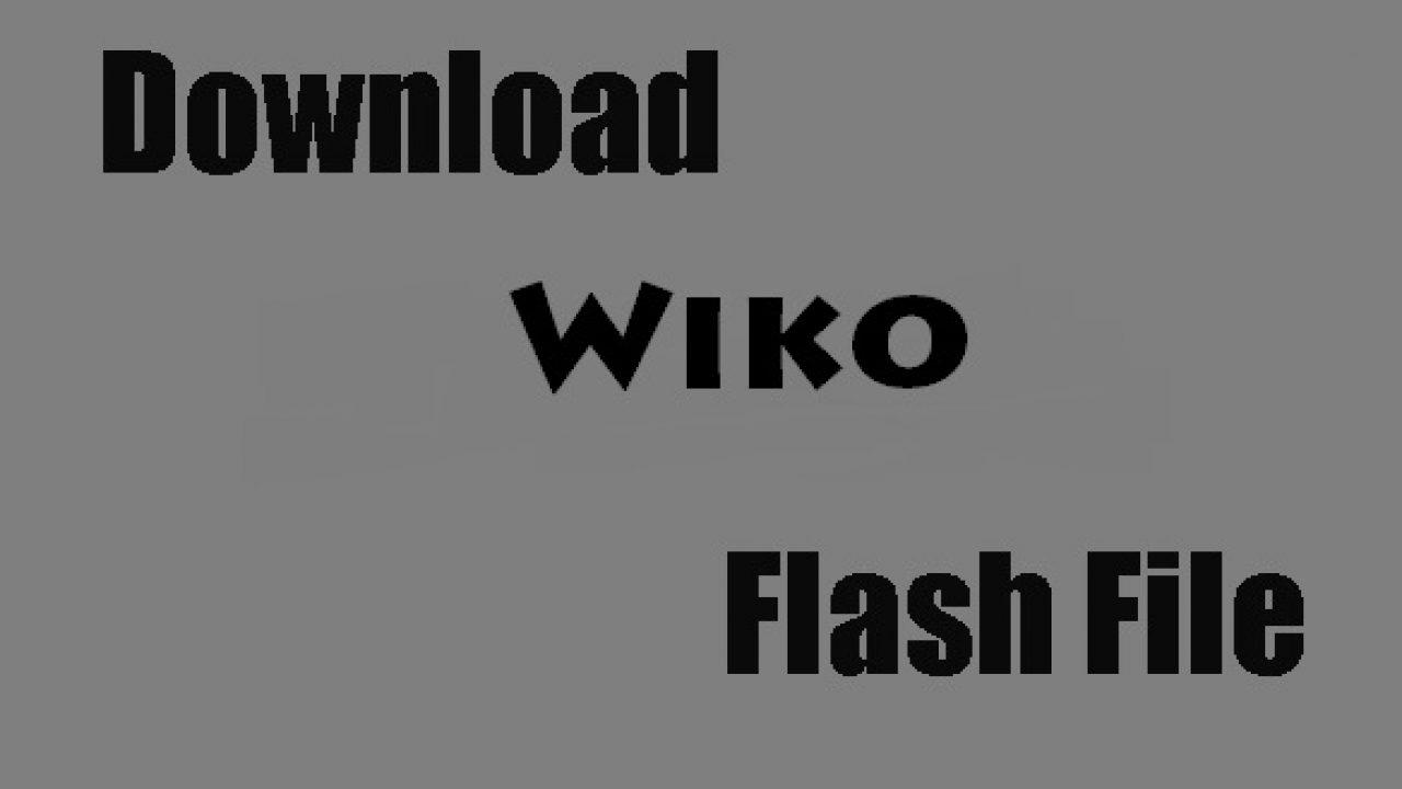 Wiko Mobile Flash File Download - RepairMyMobile in