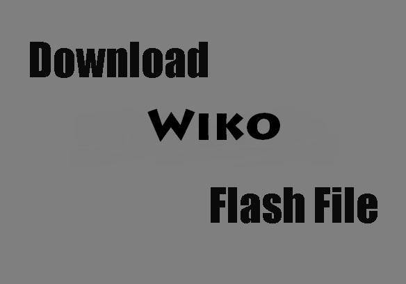 wiko Mobile Flash File