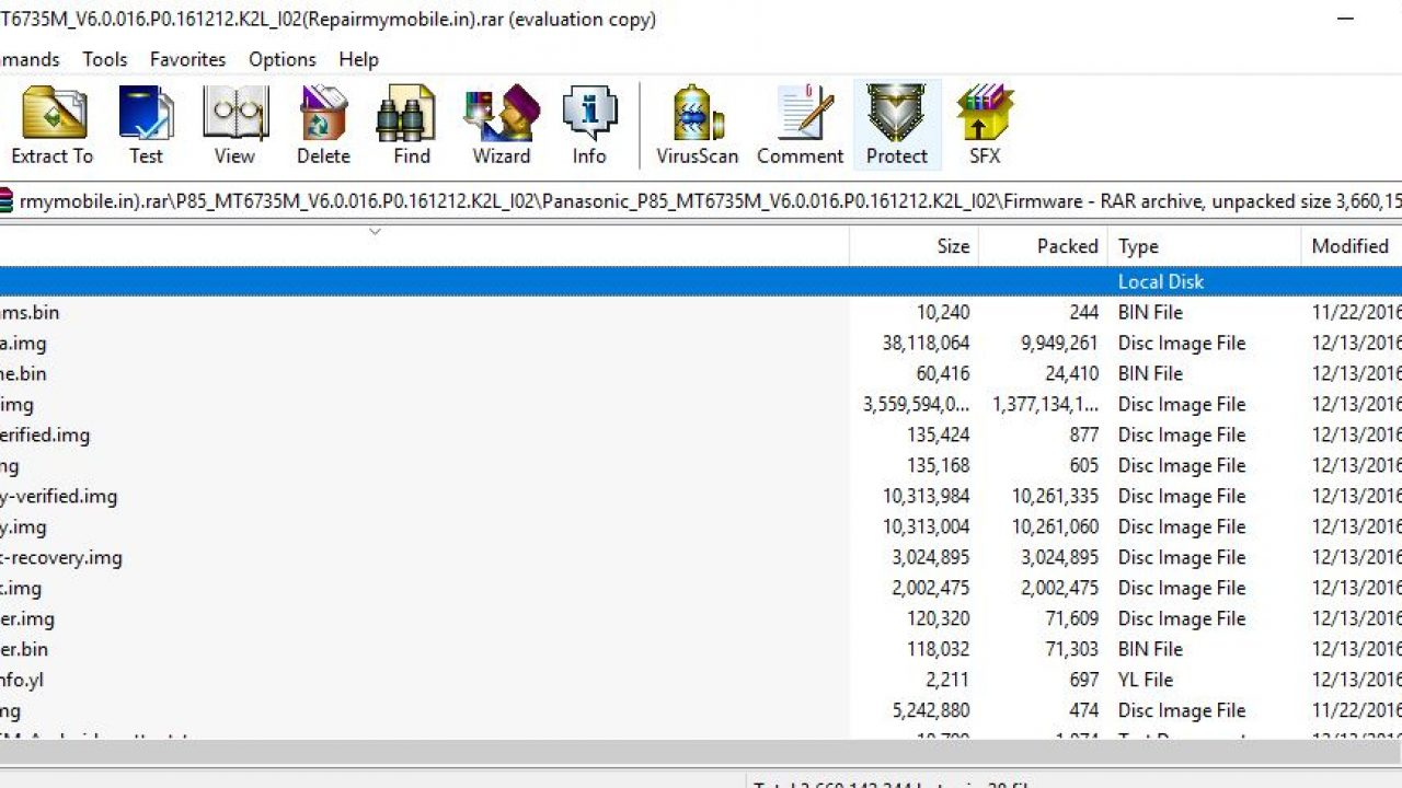 Panasonic P85 Flash File (Stock Rom) - RepairMyMobile in