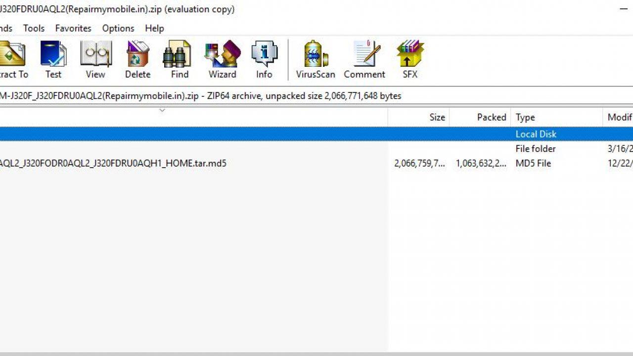 Samsung J320 Flash File