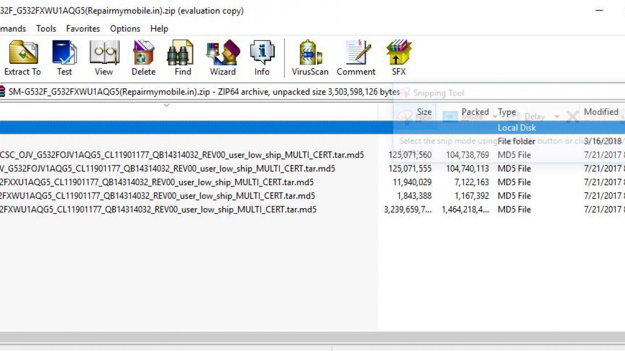 Samsung G531f Flash File 4 File
