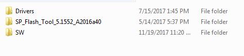 Lenovo A2016a40 Flash File